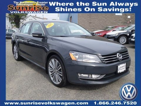certified pre owned  volkswagen passat  limited edition  sedan  lynbrook