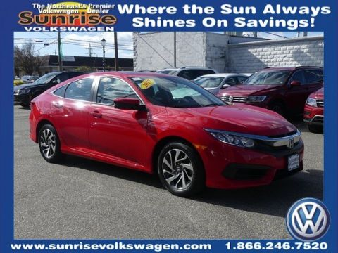 Pre-Owned 2017 Honda Civic EX FWD 4D Sedan