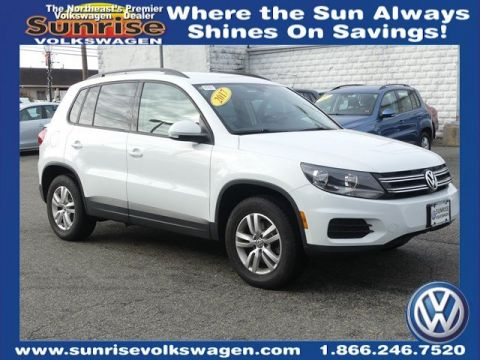 Certified Pre-Owned 2017 Volkswagen Tiguan S AWD