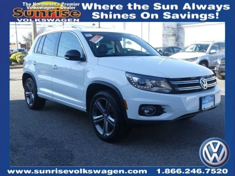 Certified Pre-Owned 2017 Volkswagen Tiguan Sport With Navigation & AWD